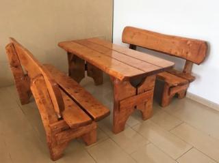 ZAHRADNÍ dřevěný nábytek z masivu