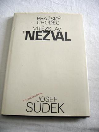 Kniha - Pražský chodec - foto - JOSEF SUDEK - 1981