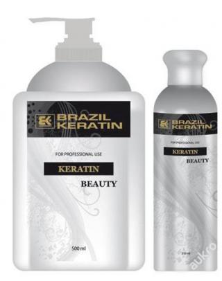 BRAZILSKÝ KERATIN BEAUTY *100ml + šampon