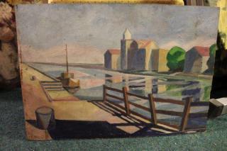 Obraz - přístav