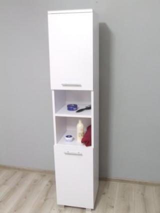 Koupelnová skříňka - bílá