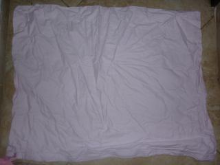 8x růžový povlak na polštář 100% bavlna