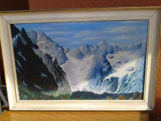 Obraz - pohoří