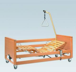 Zdravotní polohovací postel