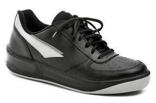 Prestige M86808 - černá sportovní obuv