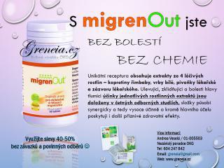 MigrenOUT bylinný produkt