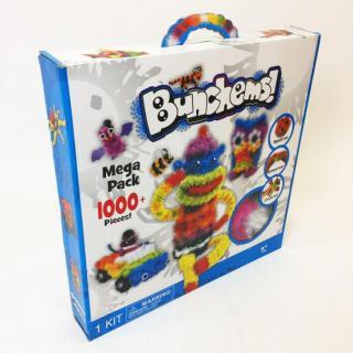Svíticí Bunchems kreativní sada - 1000 kusů