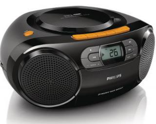 Radiomagnetofon s CD a USB PHILIPS AZ328