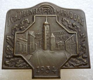 Střelby Purkersdorf 1934 - střelecký odznak